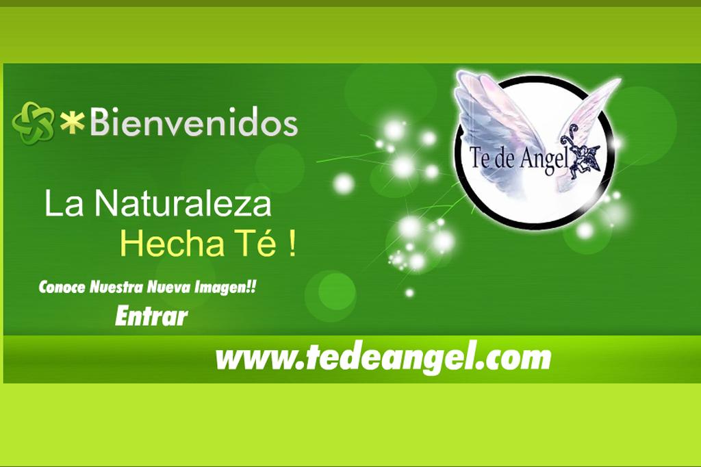 Página web Te de Angel
