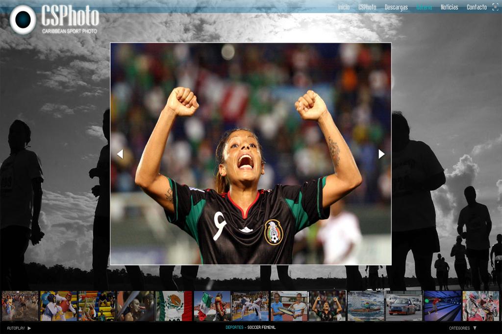 Página web CSPhoto