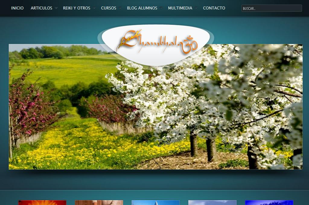 Página web Shambhalaluz