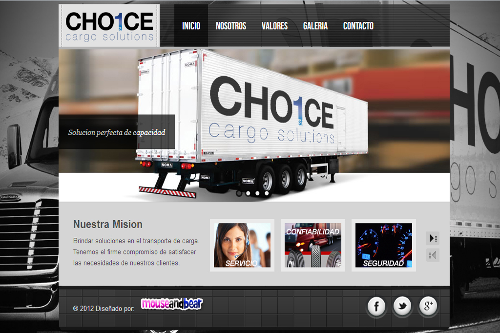 Página web First Choice