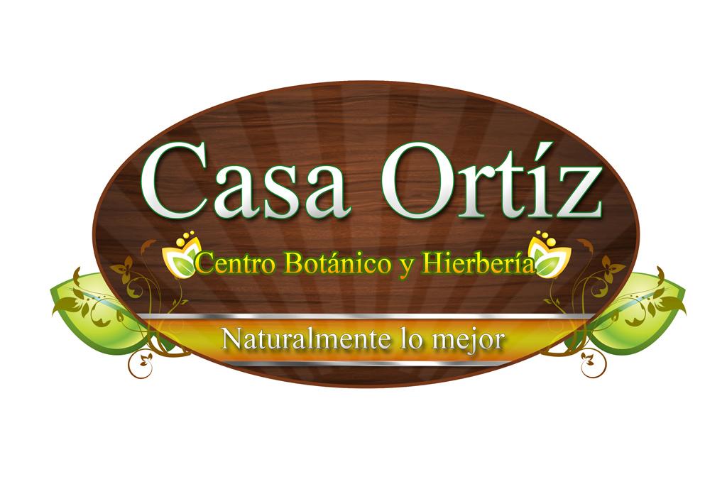 Diseño Logo Casa Ortiz