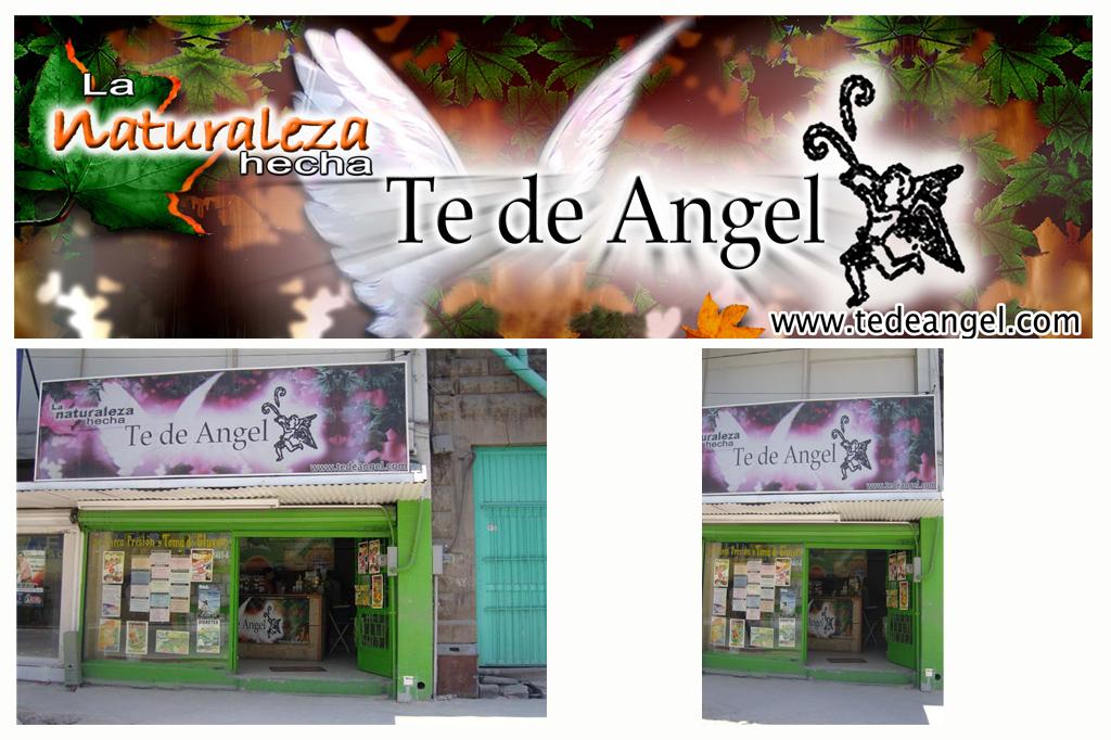 Diseño de Banner Te de Angel