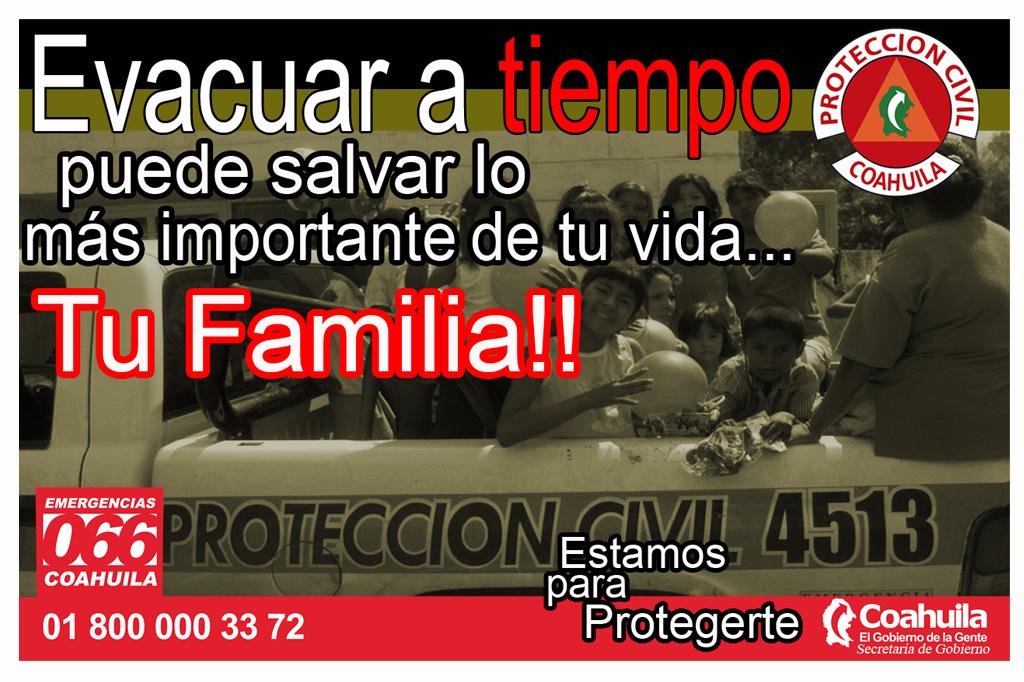 Diseño de Banners Protección Civil