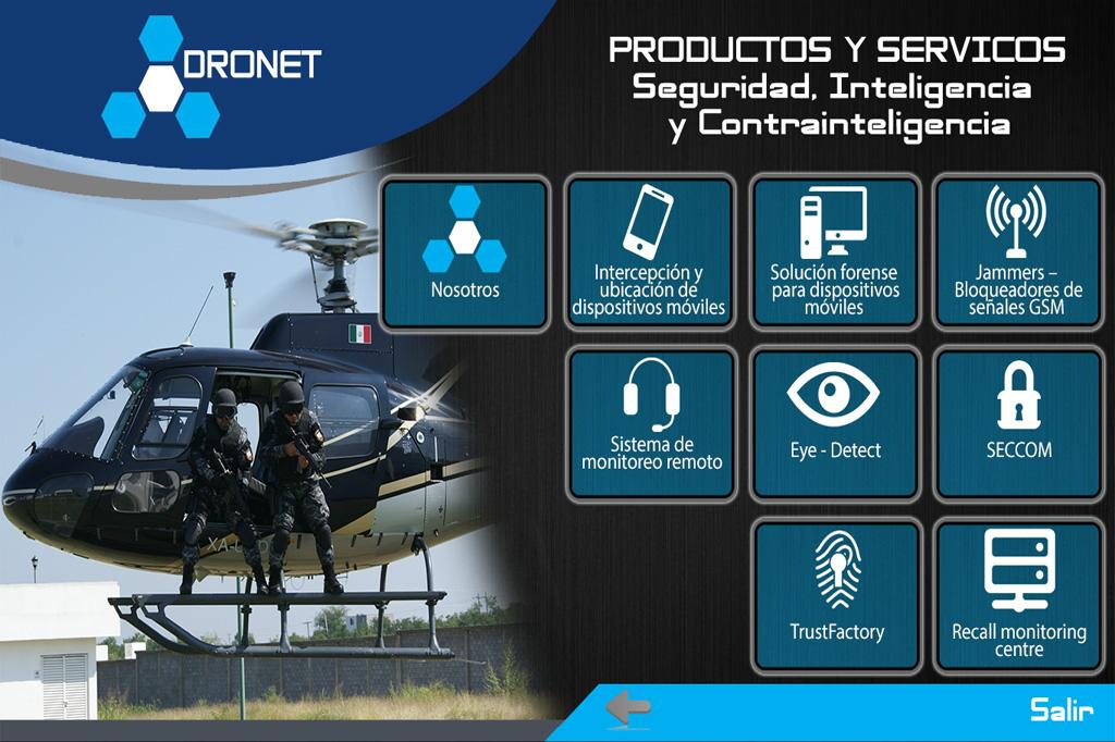 Presentación Flash Dronet