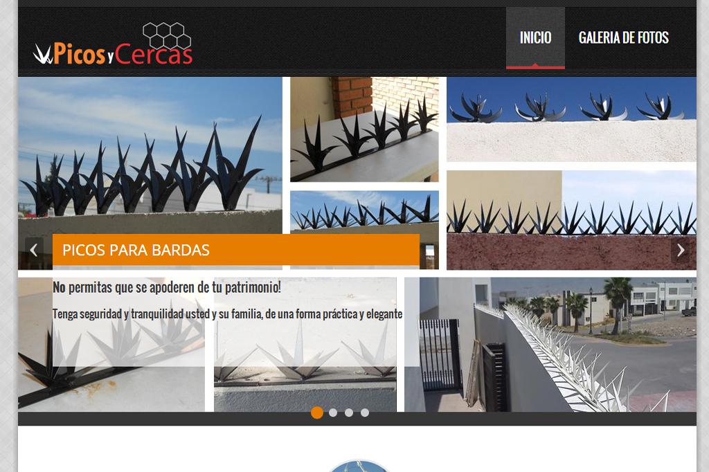 Landing Page Picos y Cercas