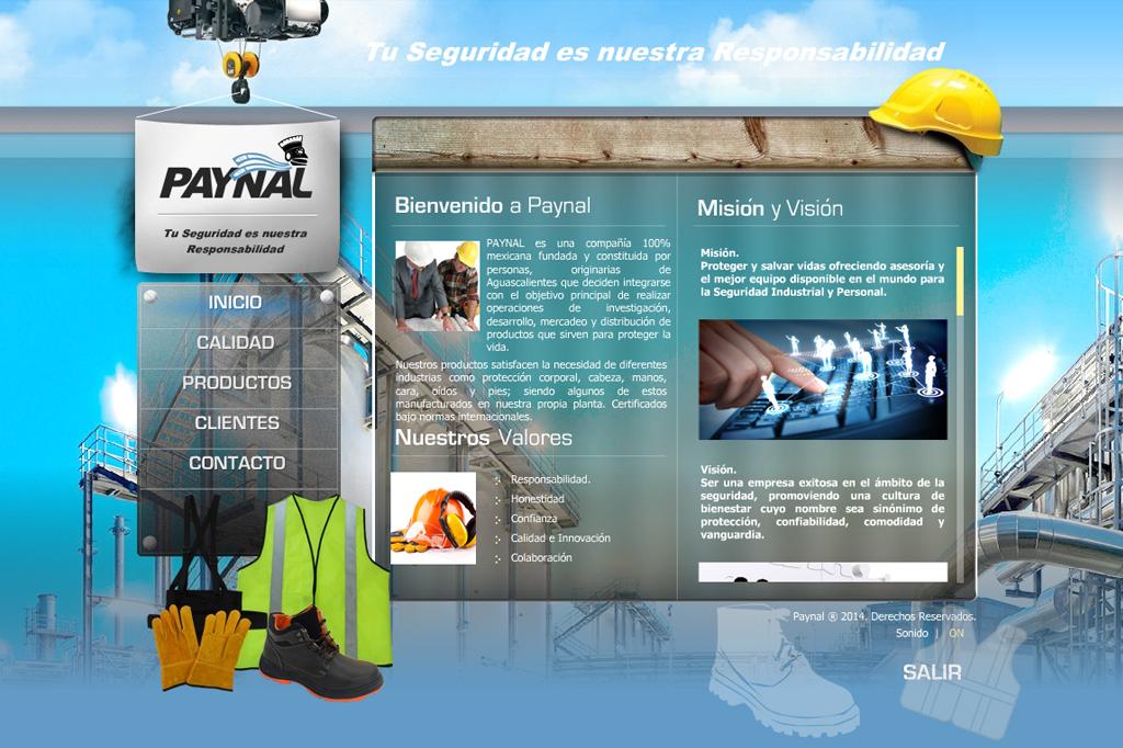 Presentación Flash Paynal