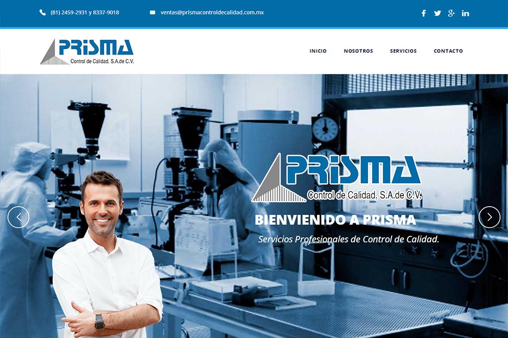 Página web Prisma