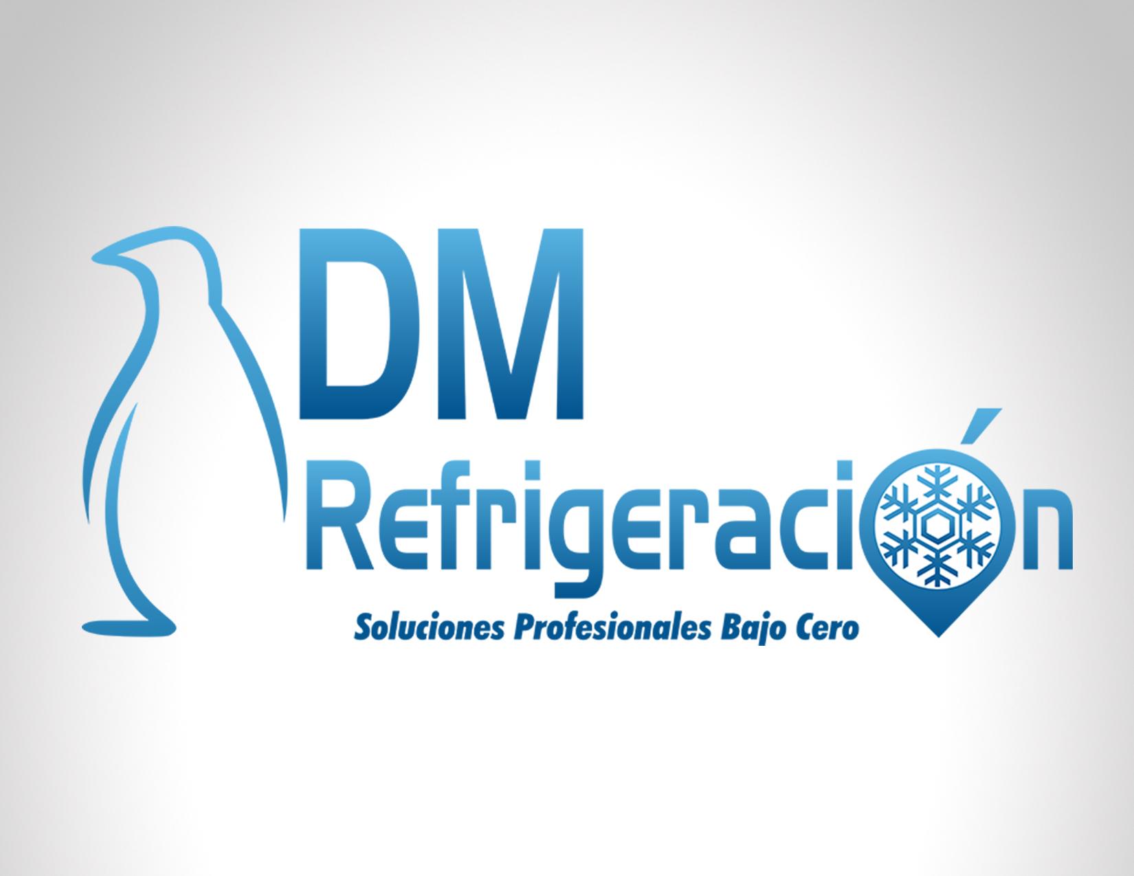 Diseño Logo DM Refrigeración