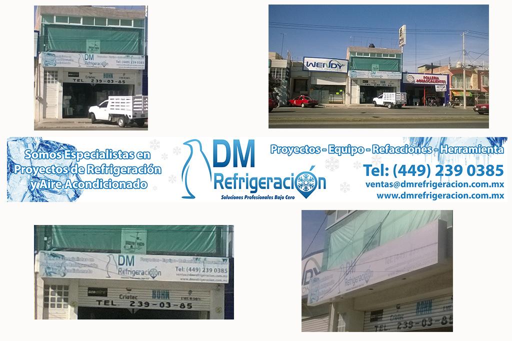 Diseño de Banner DM Refrigeración