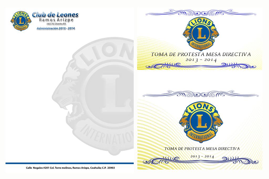 Diseño Imagen Institucional Club de Leones