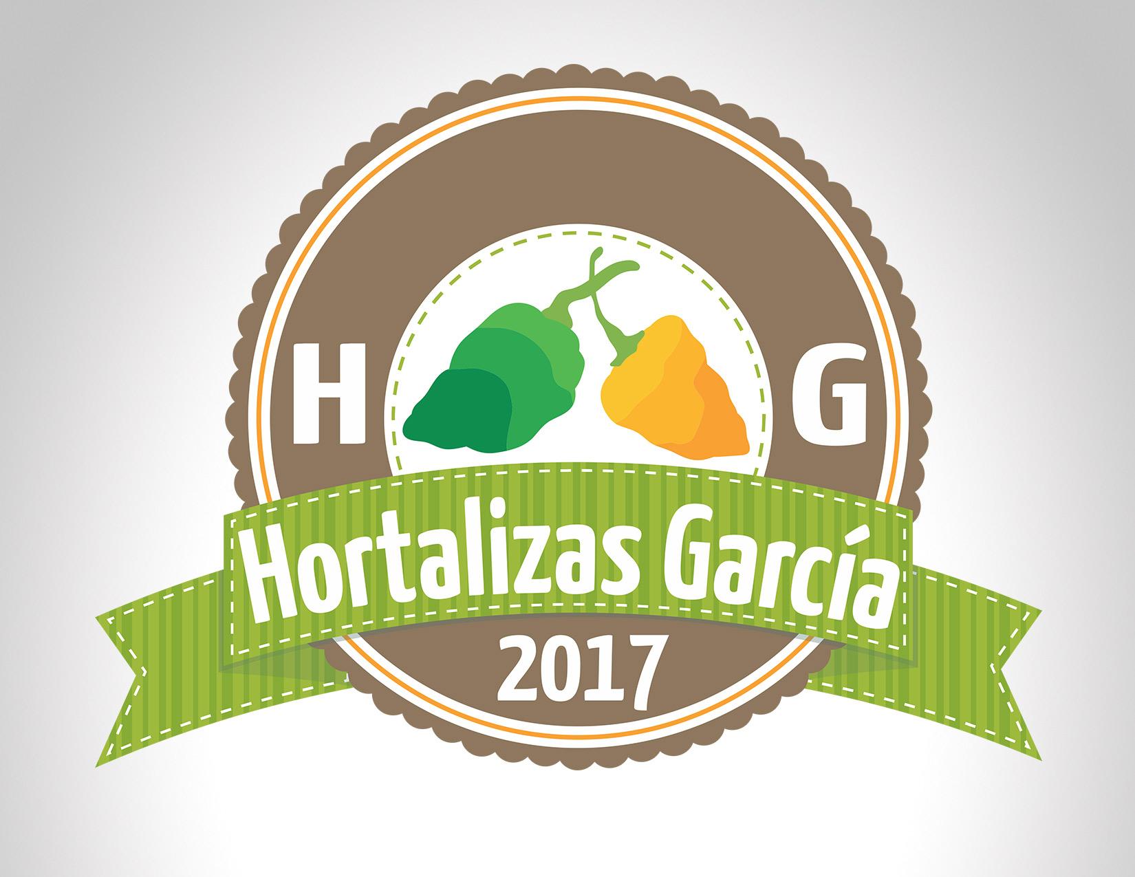 Diseño Logo Hortalizas García