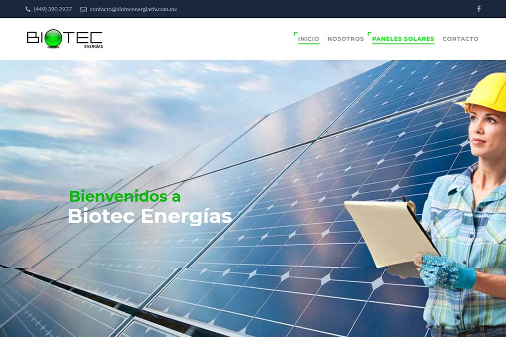 Página web Biotec