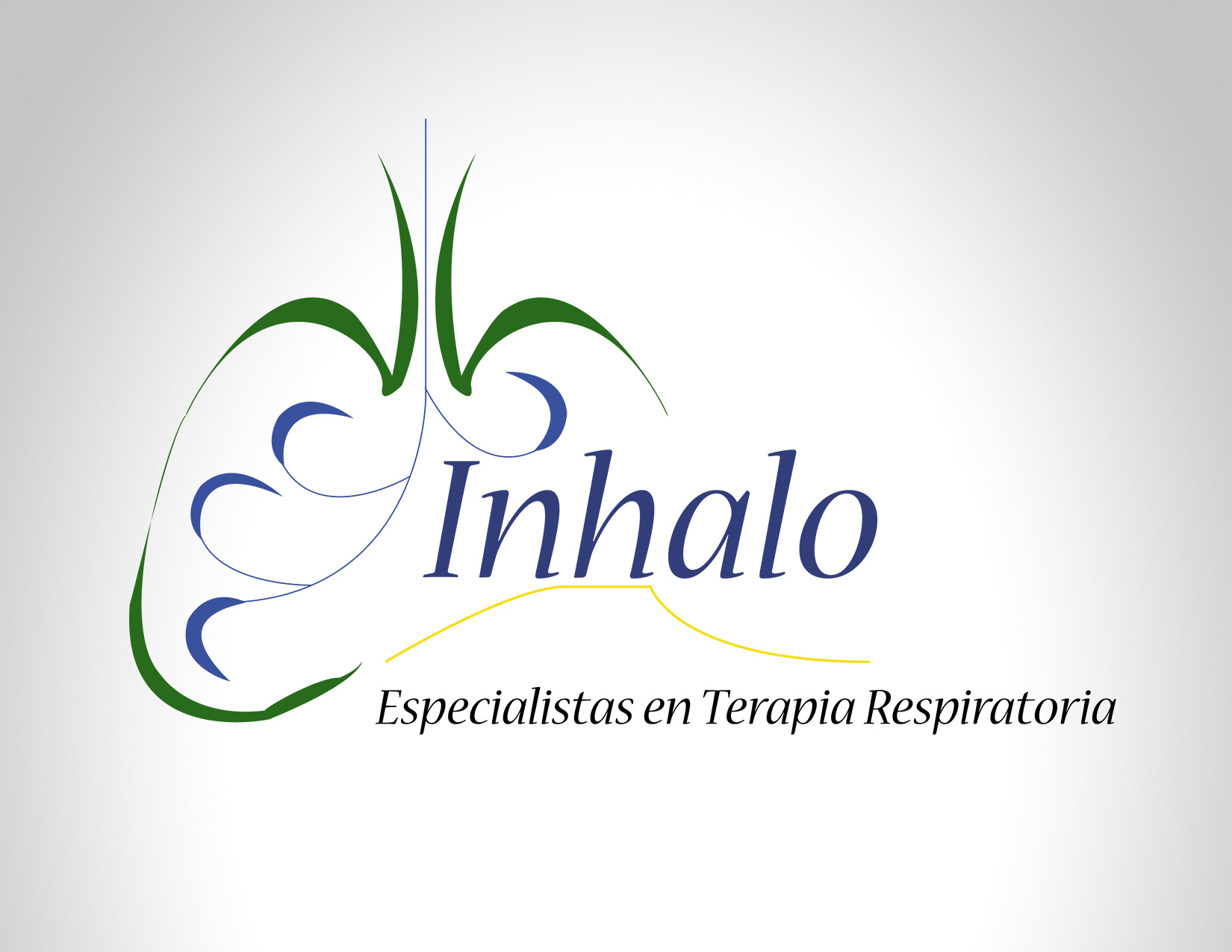 Diseño Logo Inhalo