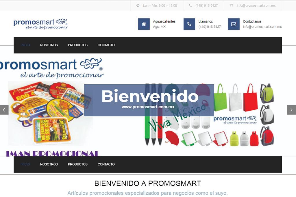 Página Web Promosmart