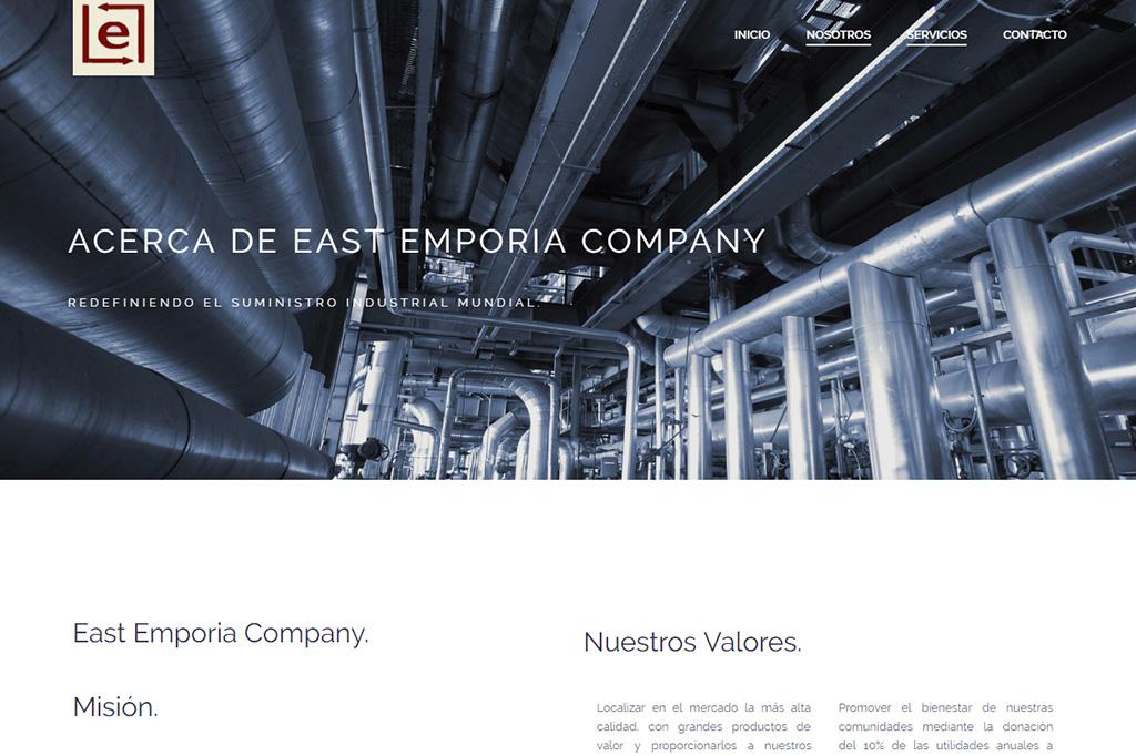 Página web Exporium