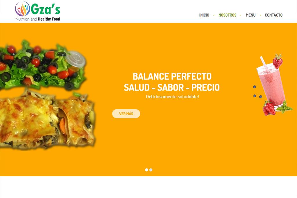 Página web Gza's