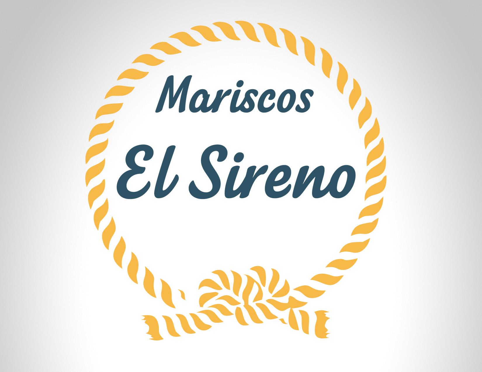 Diseño Logo Mariscos El Sireno