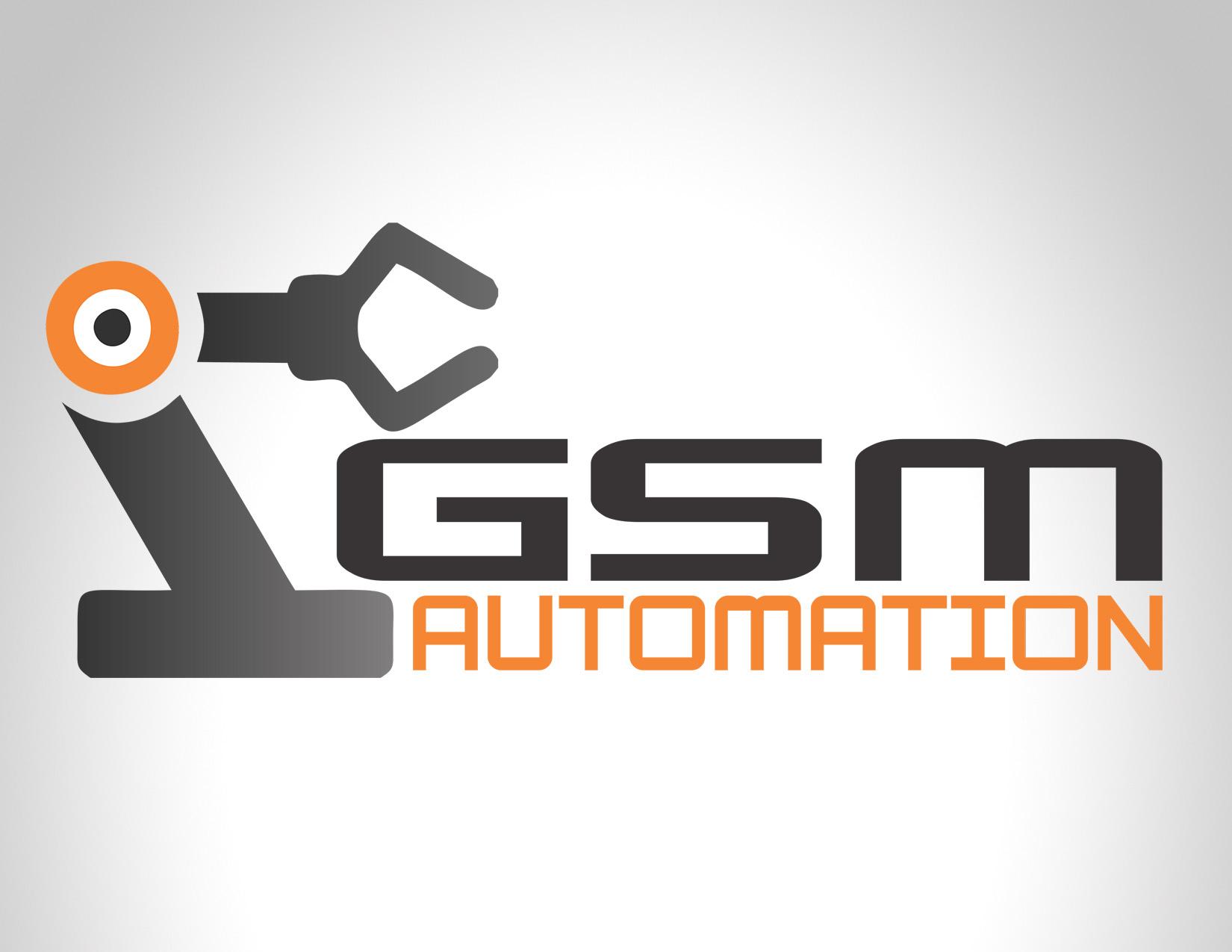 Diseño Logo GSM Automation