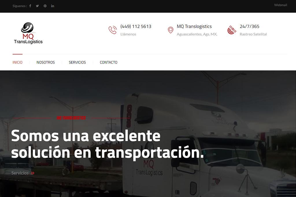 Página web MQ Translogistics