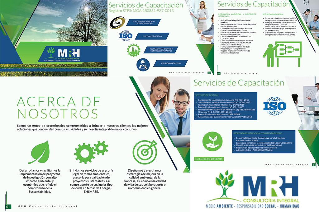 Diseño de Curriculum Empresarial MRH