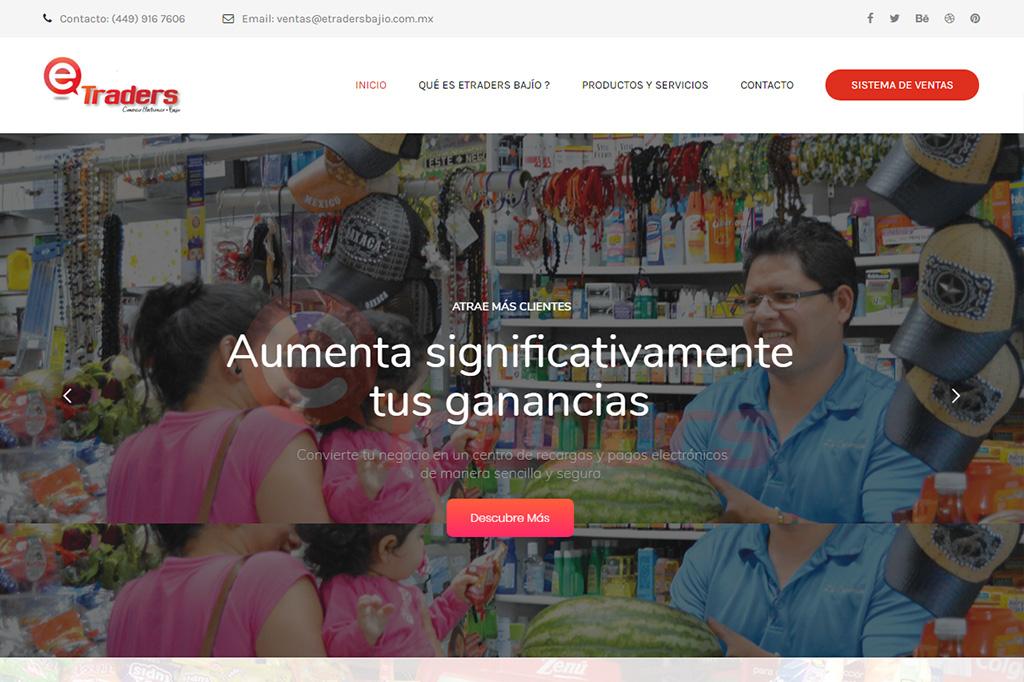 Página web eTraders Bajío
