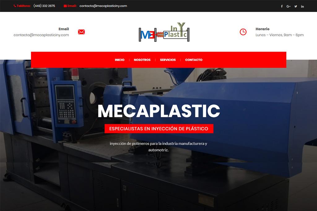 Página web Mecaplasticiny