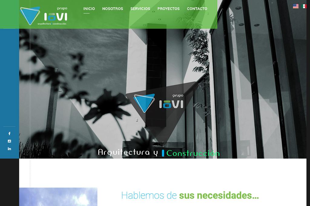 Página web Grupo Iovi