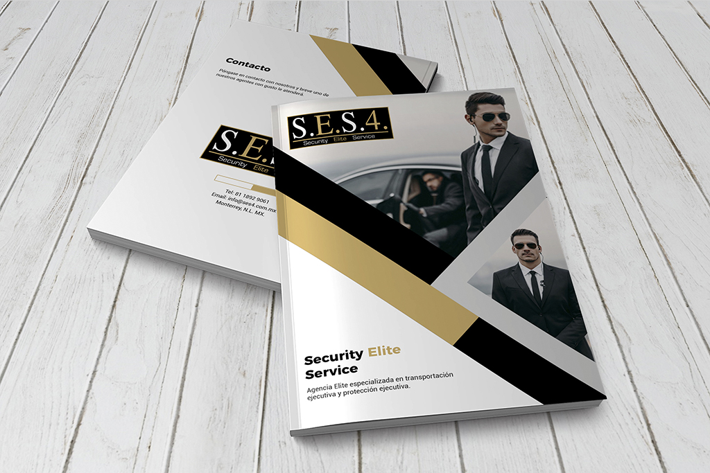 Diseño Brochure SES4